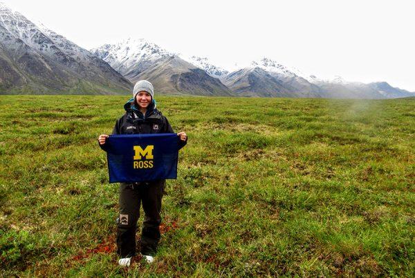 Evan Marie Allison in Alaska