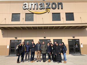 MBAs at Amazon fulfillment center